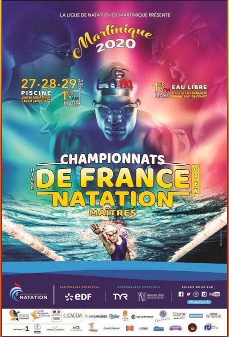 Championnat de France hiver bassin de 25m